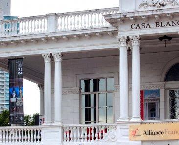 Exposición de arte digital Artbox Digital en la Alianza Francesa de Panamá. Mayo-Junio 2019